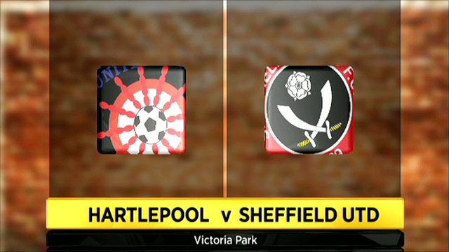 Hartlepool 2-0 Sheffield Utd
