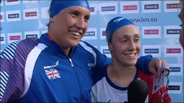 British duo delighted with one-two