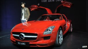 Mercedes SLS AMG, file image