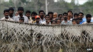 Displaced Sri Lankans, file image