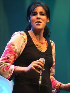 Souad Massi at the BBC Radio 3 Awards For World Music, April 2007