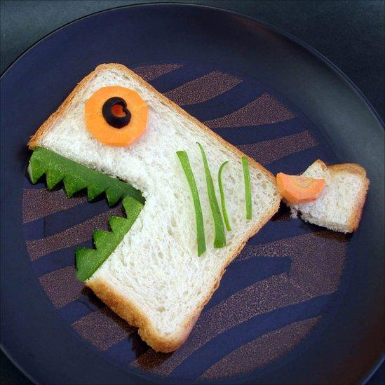 Как сделать бутерброды с рыбой