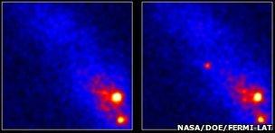 Fermi Telescope image of V407 Cygni