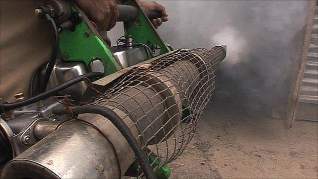 Fumigating Mumbai