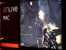 OnLive gameplay