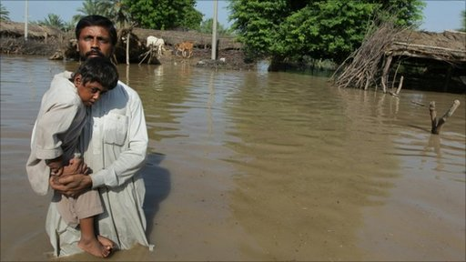Pakistani flood victims