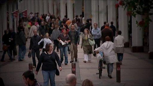 Generic street scene