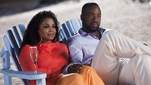 Janet Jackson and Malik Yoba in Why Did I Get Married Too?