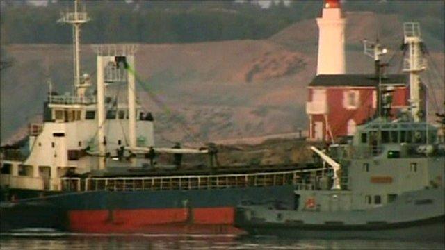 The MV Sun Sea