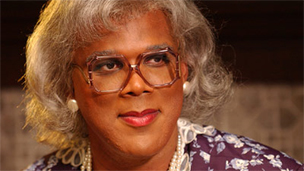 Tyler Perry in character as Madea