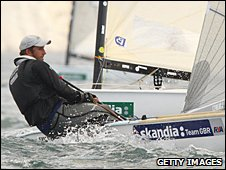 Triple Olympic gold medallist Ben Ainslie
