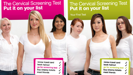 cervical screening test leaflet