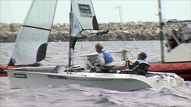 Sail for Gold regatta