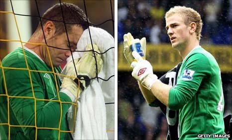 Shay Given and Joe Hart