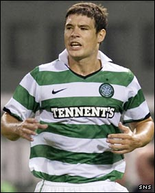 Celtic defender Darren O'Dea