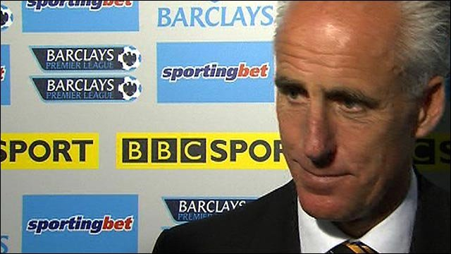 Wolves boss Mick McCarthy