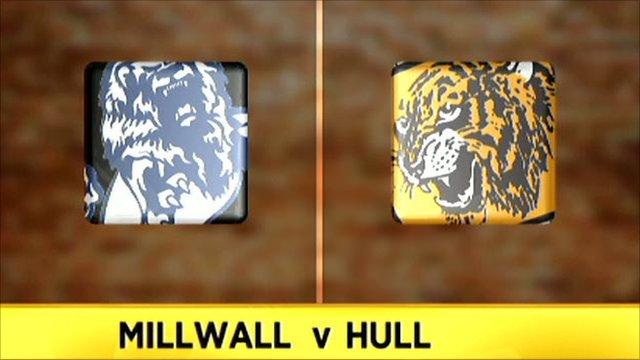 Millwall 4-0 Hull