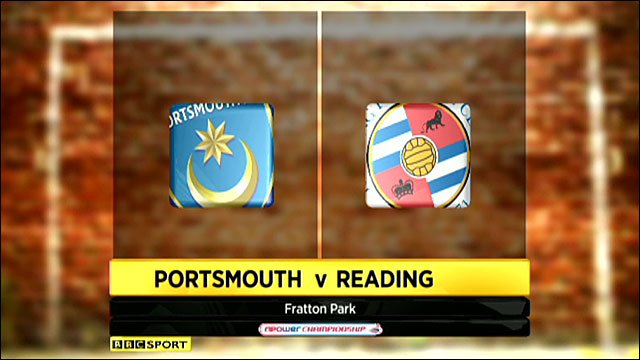 Highlights - Portsmouth 1-1 Reading
