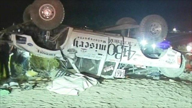 Spectators killed at off- road race in California - BBC News