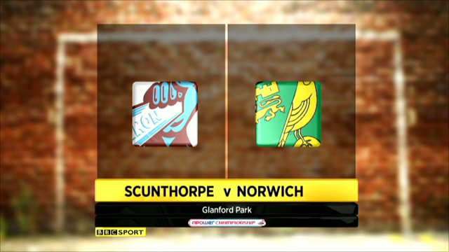 Scunthorpe 0-1 Norwich