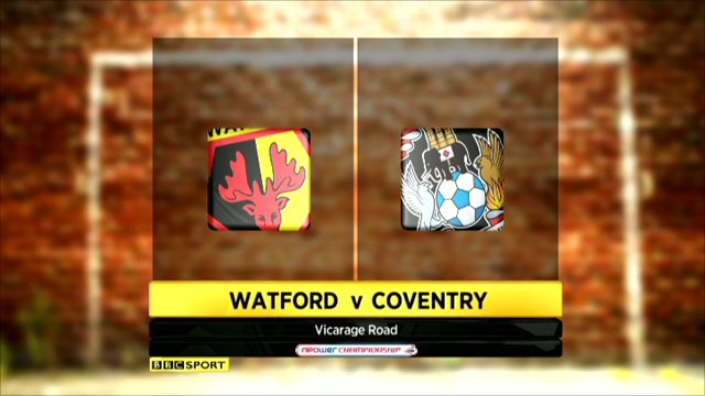 Watford 2-2 Coventry