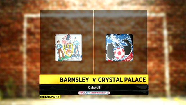 Barnsley 1-0 Crystal Palace