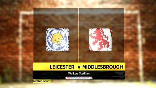 Leicester 0-0 Middlesbrough