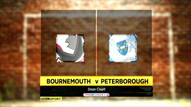 Bournemouth 5-1 Peterborough