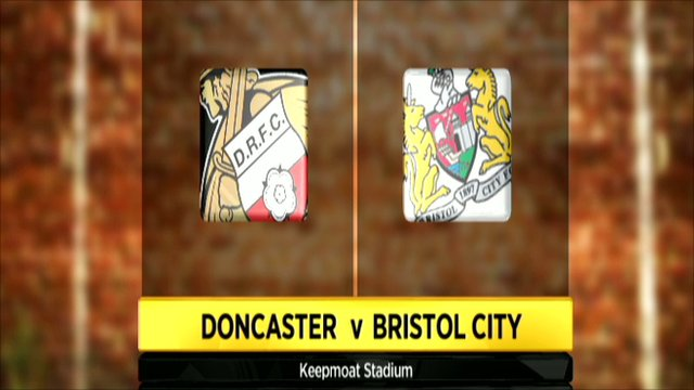 Doncaster and Bristol City club badges