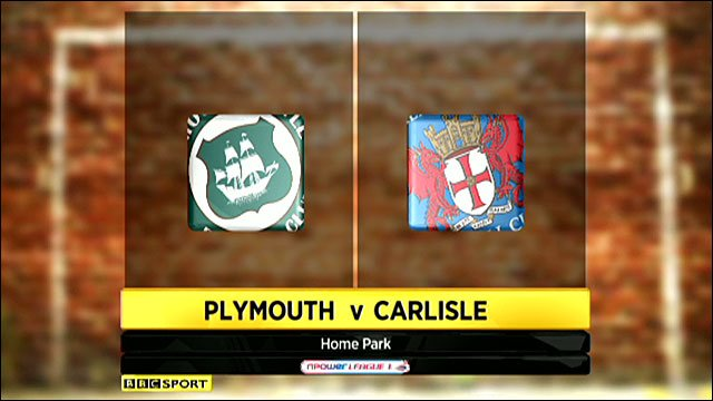 Highlights - Plymouth 1-1 Carlisle