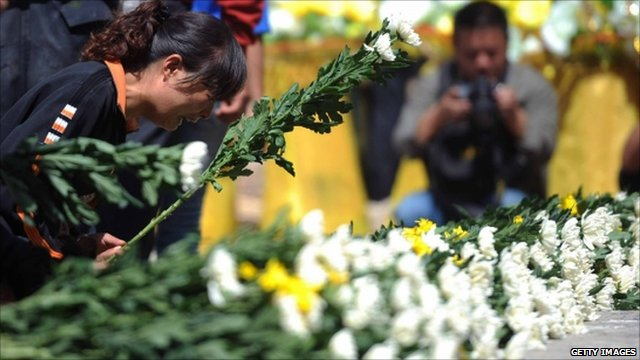 Mourner in China