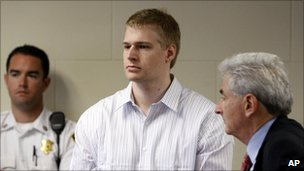 Murder suspect Philip Markoff in court - 22 June 2009