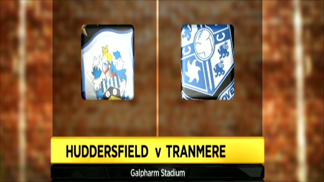 Huddersfield and Tranmere club badges