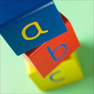 Child&#039;s building blocks