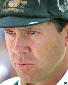 Australia captain Ricky Ponting