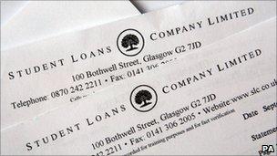 Student Loans Company statement