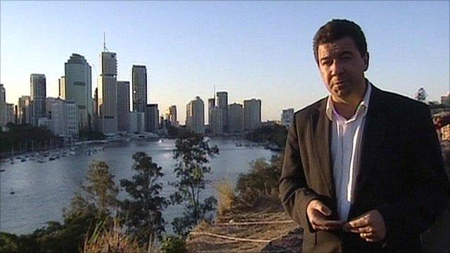 Nick Bryant in Sydney