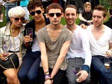 Revellers at Stoke Pride 2010