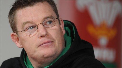 Wales Women coach Jason Lewis