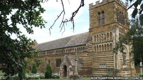 St Peter's Church on Marefair