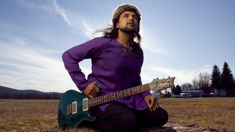 Salman Ahmad (image from 2009, photographer Chris Ramirez)