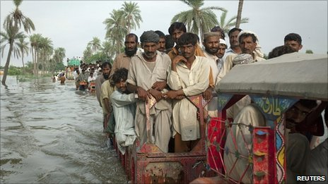 Inondazione in Pakistan