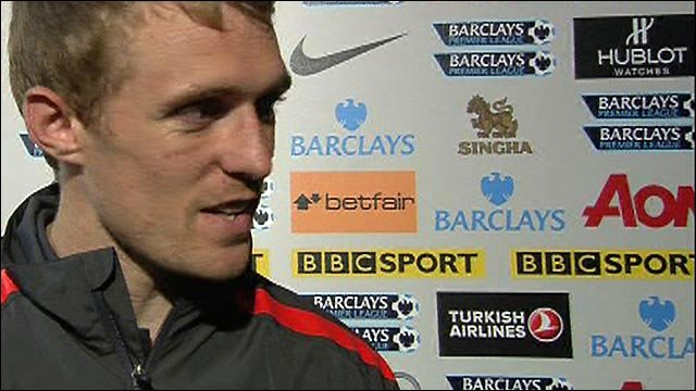 Fletcher hails 'unbelievable' Scholes after Man Utd win