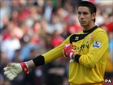 Goalkeeper Brad Jones
