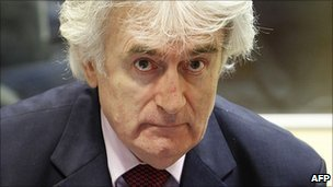 Radovan Karadzic on trial at The Hague
