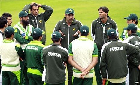 The Pakistan squad touring England
