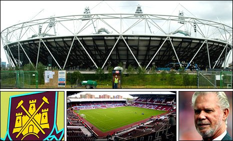 West Ham co-chairman David Gold hopes the club can move from Upton Park to the new Olympic Stadium