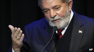 Brazilian President Luiz Inacio Lula da Silva (file image)