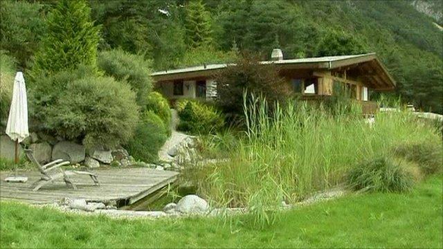 luxury villa raffled off in austria