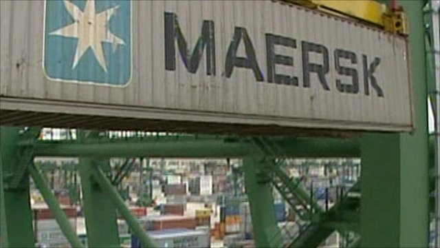 Maersk container
